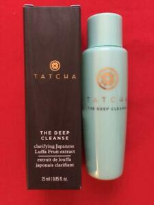 TATCHA The Deep Cleanse Cleanser .85oz Deluxe Travel Size - NEW in Box,FREE SHIP