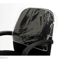 Betty Dain 197 Deluxe BLACK Round Styling Salon Vinyl Chair Back Cover