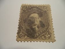(114) EARLY AMERICAN STAMP SG66c / SCOTT 78a?  WITH FAULTS