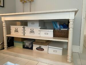 Console Table with Shelf - Excellent Quality - Used