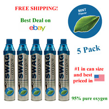 Boost Oxygen Level Naturally (Mint Flavored Oxygen Cans) (5 Pack)