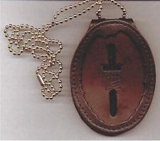 Arlington Police (Virginia) Detective Recessed Badge Cut-Out Neck Hanger