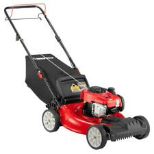 Troy-Bilt Self Propelled Lawn Mower Front-Wheel Drive Stamped Deck Gas Powered