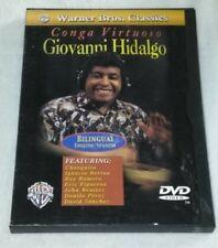 Alfred Conga Virtuoso with Giovanni Hidalgo DVD *RARE opp