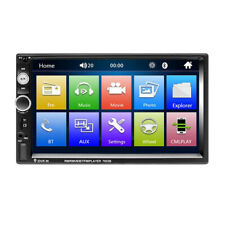7in 7023B Car Vehicle FM Stereo Radio Bluetooth AUX Hands-free MP5 Player 2 DIN