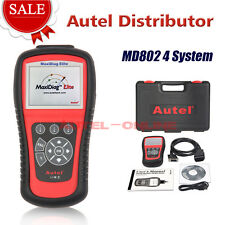 Autel MaxiDiag Elite MD802 4SYSTEM+DS Model OBD Diagnostic Scan Tool Code Reader