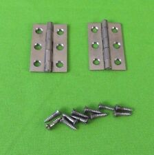 Vintage Columbia Grafonola Phonograph Bed Plate Hinges