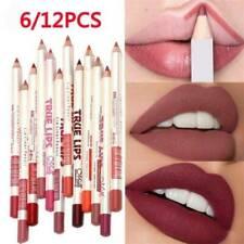 6 PCS/Set Waterproof Lipstick Lip Liner Long Lasting Matte Lipliner Pencil Pen *