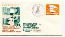 1979 Space Shuttle Aft Reaction Control System Qualification Testing White Sands