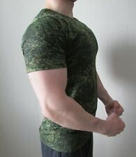 Genuine ALL SIZES Russian Army Official T Shirt Green TSIFRA Camouflage Uniform