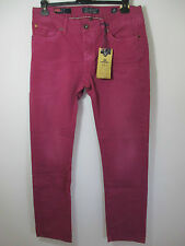 NEW ZEALAND AUCKLAND  JEANS HOSE RASPBERRY  HECTOR  2 te Wahl   Gr : 34 / 34