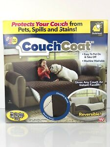 "BulbHead ""Couch Coat"" ~ Protects Your Couch From Pets, Spills and Stains"
