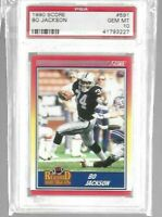 BO Jackson 1990 Score Record Breakers PSA 10--Raiders