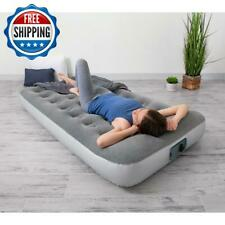 Air Bed Mattress Inflatable With Built In Ac Pump Twin Size  Sleeping Camping
