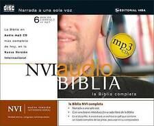 NVI Biblia Completa Audio by Zondervan (CD-Audio, 2006)