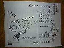 Hirdhawks Custom maple Fore-fin compatible avec Crosman pour 2250 2240 1377 1322