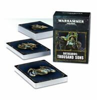 Warhammer 40k Thousand Sons Datacards NIB