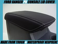 FORD RANGER PX1 NEOPRENE CONSOLE LID COVER (WETSUIT FABRIC) JULY 2011 - AUG 2015