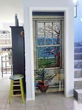 Windows Bamboo Beaded Curtain Decor Panel Porch Dividers Blind Screen Wall Arts