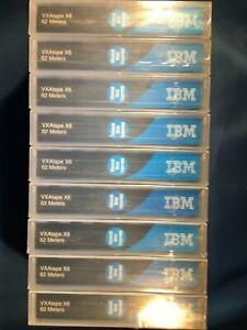 10 IBM 24R2134  VXA X6   40/80GB data tape cartridges NEW free fast shipping