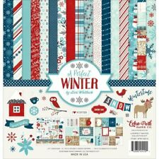 ECHO PARK - A Perfect Winter - 12x12 Scrapbook Collection Kit