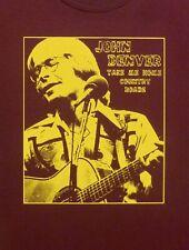 John Denver t shirt New hits red
