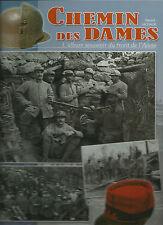 Prima guerra mondiale - Chemin des Dames - Album fotografico del fron dell'Aisne