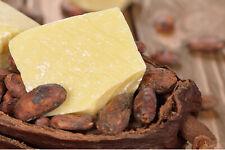 PURE Beurre de CACAO BRUT  100% BIO ORIGINE CÔTÉ D'IVOIRE 50 G