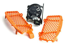 Trail Tech ORANGE Radiator Guards/Fan Kit - KTM SXF XCF 250-450 16-18 _7323C-FN3