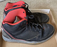 Air Jordan Flight Remix Size 8.5 Black Infrared Grey- Used