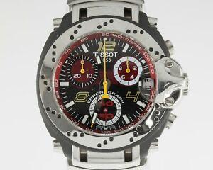 Men's Tissot T-Race MotoGP Watch Carbon Dial T90.4.296.84