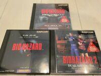 BIOHAZARD 1 Resident Evil, 2 Dual Shock ver., Director's Cut Japan PS1 Sony