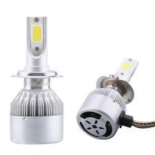 Kit 2x Luce LED lampade lampadine fari auto car lampada moto H7 6000K 36W 3800LM