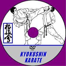 KYOKUSHIN KARATE DVD GUIDE STEP X STEP MARTIAL ARTS INSTRUCTION BEGINNERS MMA