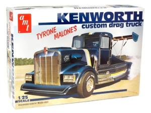 AMT1157 AMT Kenworth Custom Drag Truck (Tyrone Malone) 1:25 Scale Model Kit