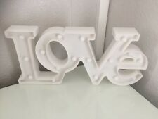 Love Letter Light Home Decor Used Unwanted White Modern Party Wedding Kids Xmas