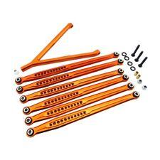 """X Spede SCX313LX03 Orange Aluminum Suspension Link Set 12.3""""/313mm Axial SCX10"""