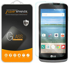 3X Supershieldz LG Optimus Zone 3 Tempered Glass Screen Protector Saver