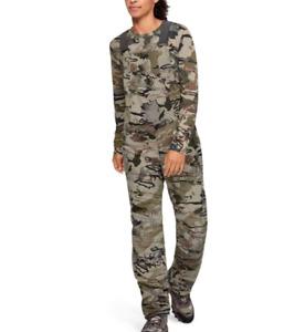 Under Armour Womens Barren Camo Mid Season Hunting Bib Pants Medium 1344583-999