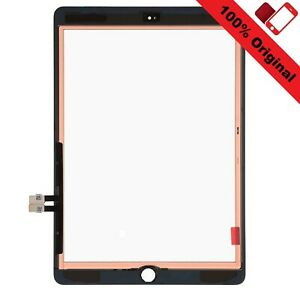 """iPad 6 Orignal 9,7"""" (2018) Digitizer Front Touchscreen Glas Frontscheibe Schwarz"""
