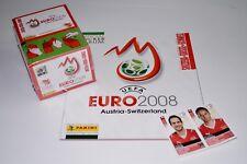 PANINI EM 08 Euro 2008 Display + Album Swiss Edition + Updates Schweiz Neu/Rar
