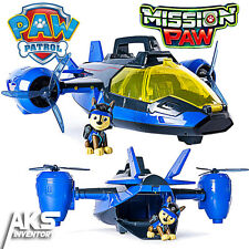 PAW Patrol Mission Paw Air Patroller Plane & Helicopter Lights & Sounds Toy New