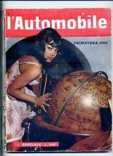 L'AUTOMOBILE #N.1 Speciale Primavera 1962