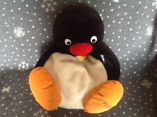 PINGU The Penguin Large Soft Plush Pyjama Case Hot water Bottle Cover VGC