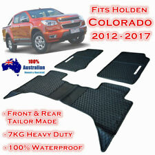 Heavy Duty Floor Mats Tailor Made for Holden Colorado Dual Cab 2012 - 2017