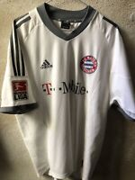 Maglia Shirt Trikot Fotbal Bayern Monaco Germany #13 Ballack Match Worn Patch