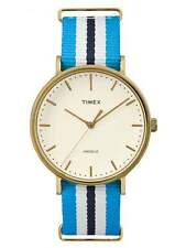 Timex Men's Fabric/Canvas Strap Wristwatches