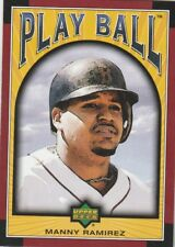 FREE SHIPPING-MINT-2004 Upper Deck Play Ball #57 MANNY RAMIREZ RED SOX