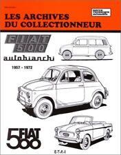 Fiat 500 500d 500k 500f 500l Autobianchi les Archives du collectionneur RT