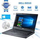 "Dell Latitude E6510 15.6"" Laptop Core I5 2.6ghz 8g Ram 128g Ssd Dvd Windows 10"